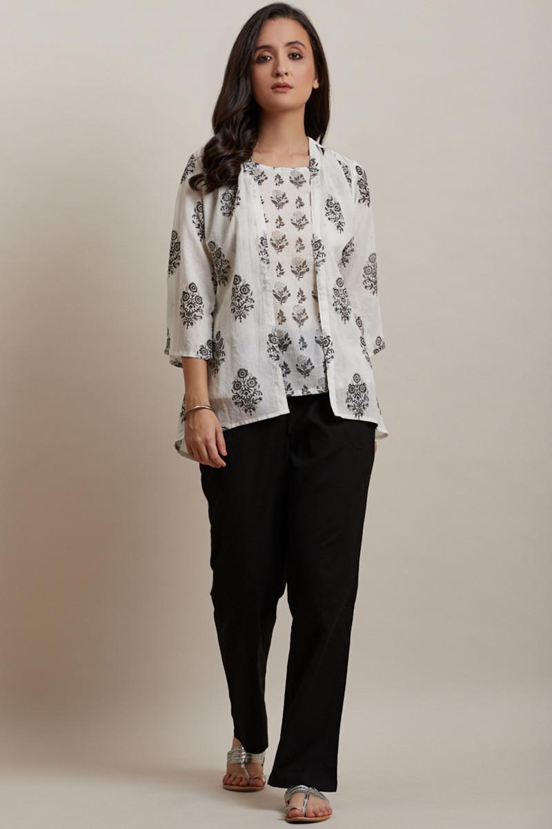 Mumtaz Jasmin Kimono - Image View 1