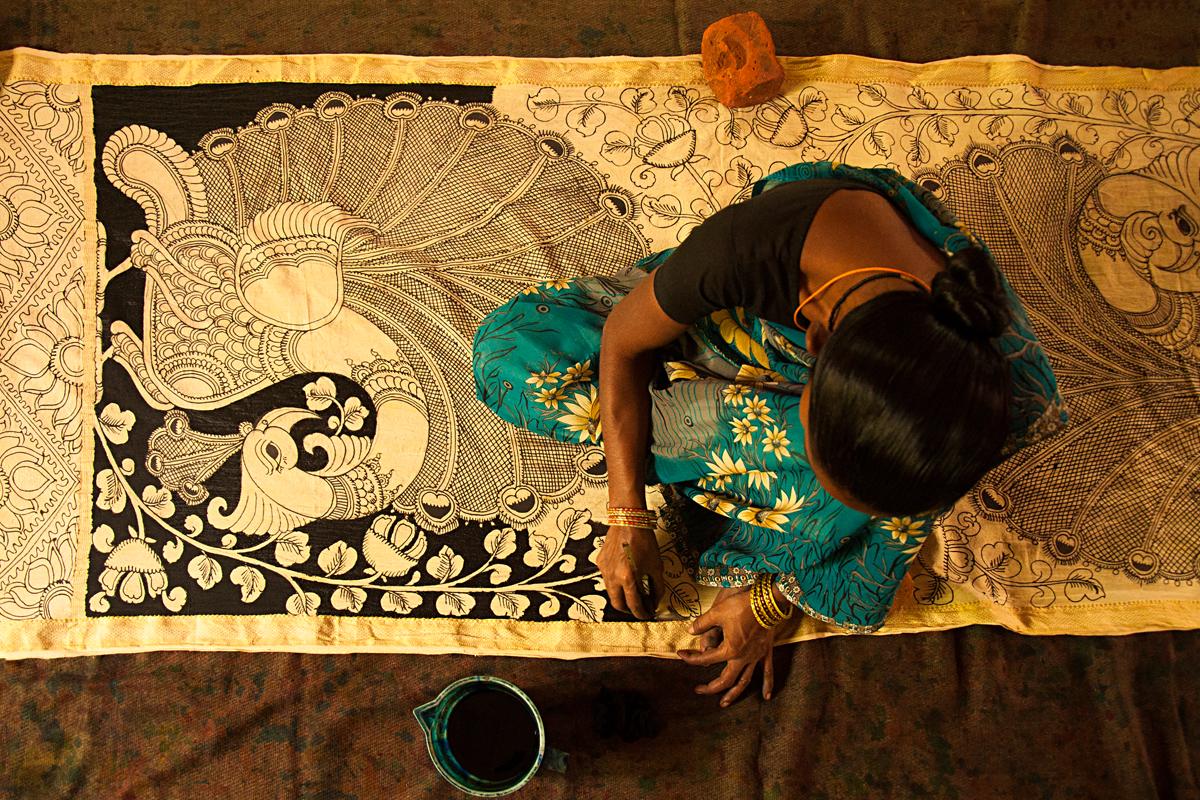 Kalamkari  Printing