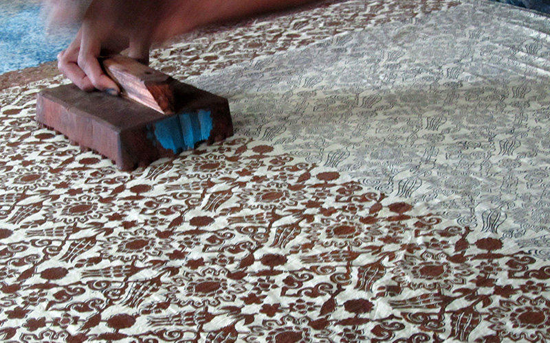 How Ajrak is Made