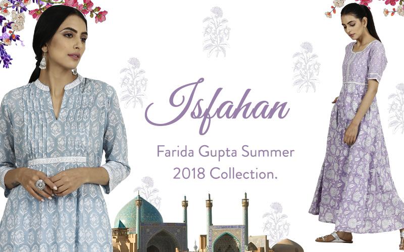 Farida Gupta Summer Collection.