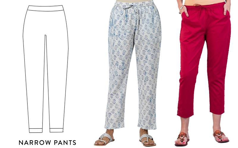 Women Narrow Pants