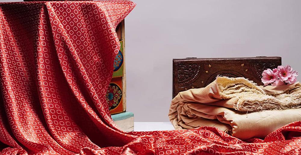 Mashru fabric appearance