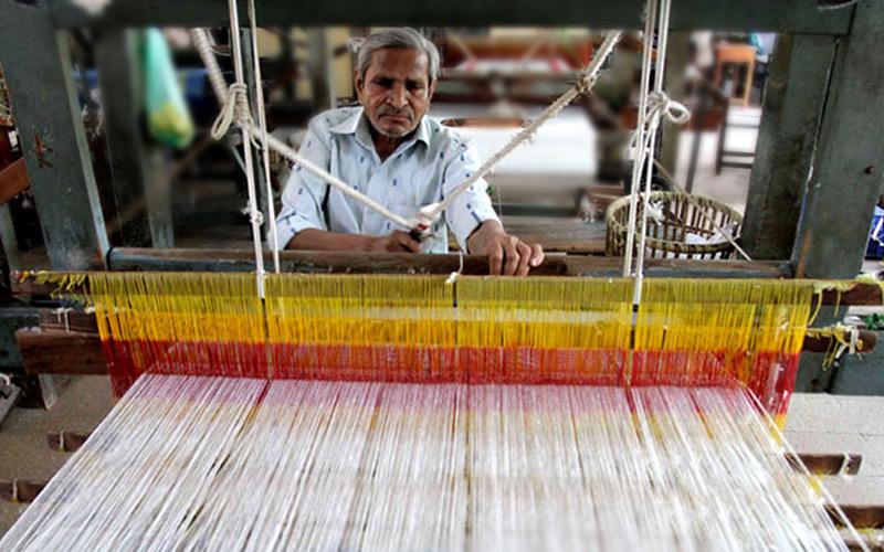 chanderi fabric manufacturing