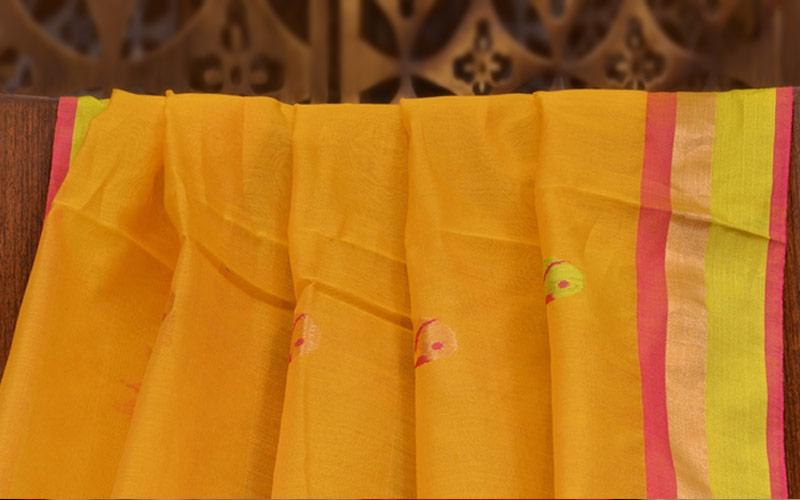 Chanderi Silk Fashion
