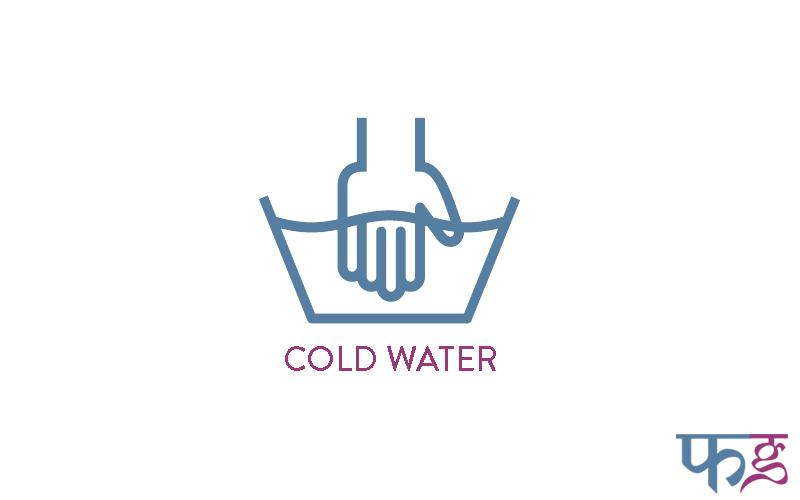handwash in cold water
